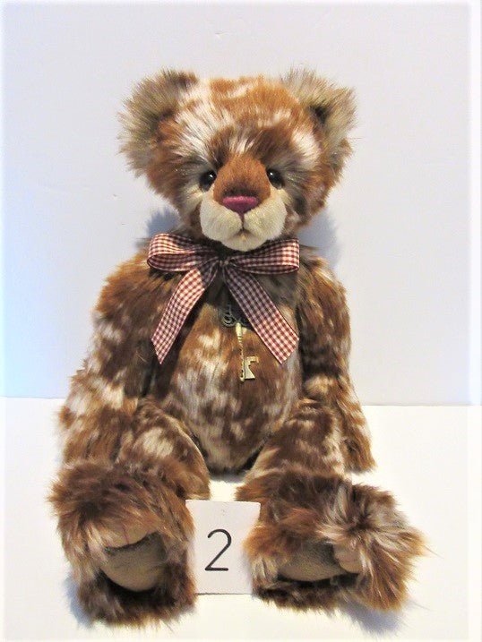 "Charlie Bear ""Strudel"" 18"" (46cm) tall.RRP £78. NOW £73.Actual Photo's (2)"