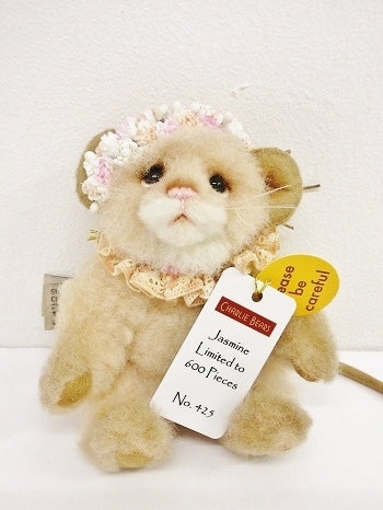 "Charlie Bear ""Jasmine"" Minimo,5.5""(14cm) tall. L/E 425/600. RRP £80. Now £60 Actual Photo"