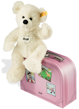 "Steiff 111563 ""Lotte with Suitcase"" 11"" (28cm) tall"