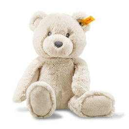 "Steiff 241536 ""Bearzy"" 11"" (28cm) tall. (Beige plush)"