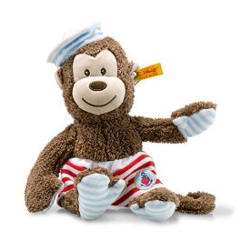 "Steiff 241475 ""Steiff Sailor Monkey"" 10"" (26cm) tall"