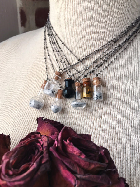Self-Love Spell Bottle Necklace No. 3