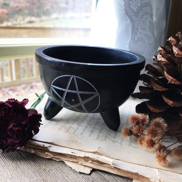 Pentacle Smudge Bowl