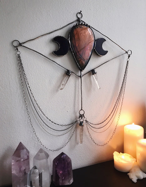 Out Of This World: Labradorite Wall Hanging