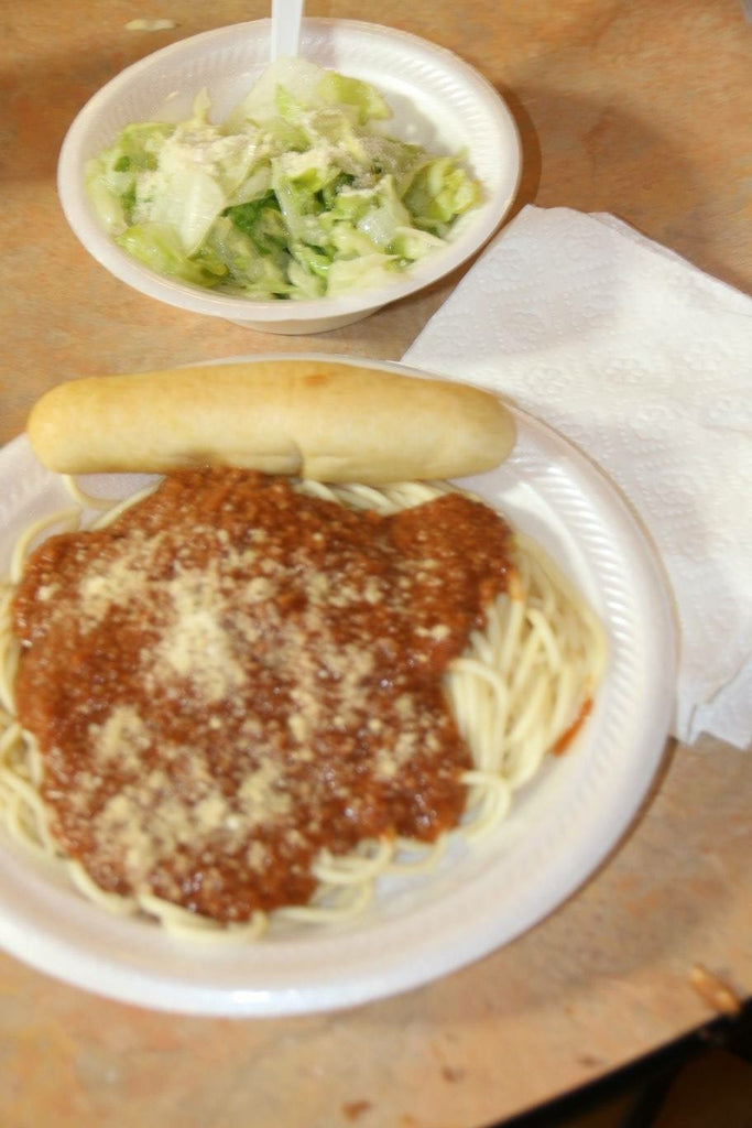 Alice's Spaghettiland Dinner - Adult Dinner