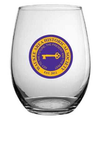 Commemorative Stemless Wine Glasses - shipped
