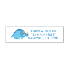 Children's Return Address Labels - Dinosaur