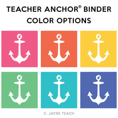 The Teacher Anchor® Binder - Solid