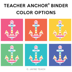 The Teacher Anchor® Binder Stripe