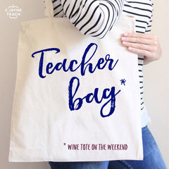 Teacher (Wine) Tote