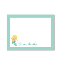 Childrens Flat Card - Mermaid