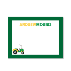 Childrens Flat Card - Tractor