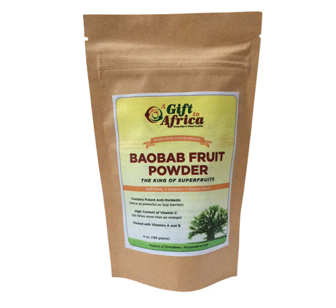 Baobab Fruit Powder - 4 oz