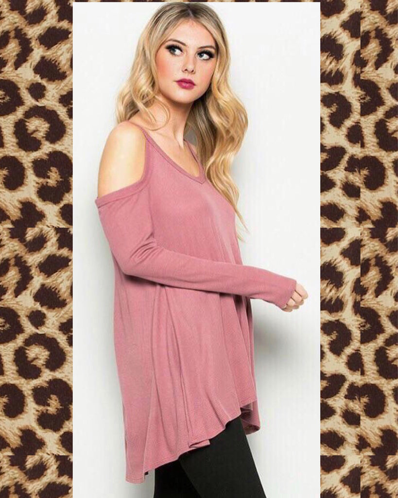 86954f6dfa Cold Shoulder Tunic Top - SOUTHERN REVIVAL BOUTIQUE – Southern ...
