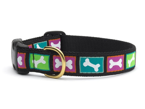Up Country Collars: Bright Bones Large