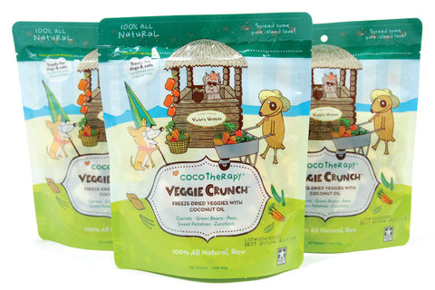 Cocotherapy Treats: Veggie Crunch