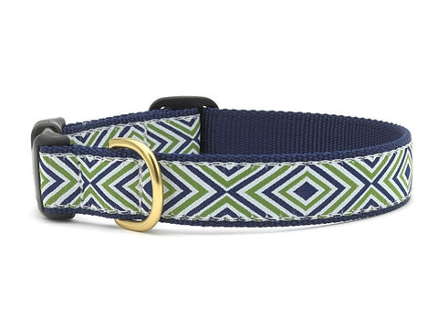 Up Country Collars: Diamond Stripe Med.