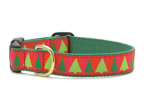 Up Country Collars: Festive Trees Lrg.
