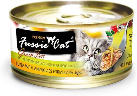 Fussie Cat: Tuna with Anchovies