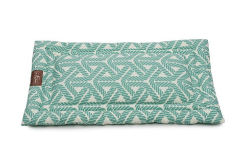 Jax and Bones Bed: Marina Seafoam Medium