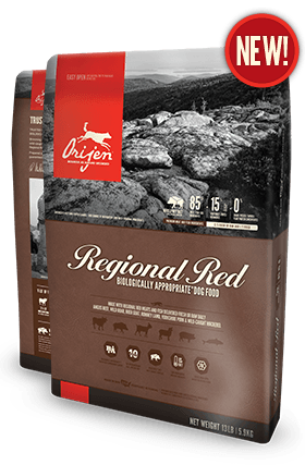 Orijen Dog Food: Regional Red