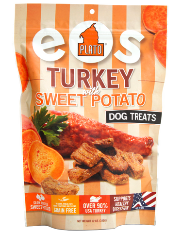 Plato Dog Treats: Turkey With Sweet Potato