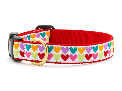 Up Country Collars: Pop Hearts