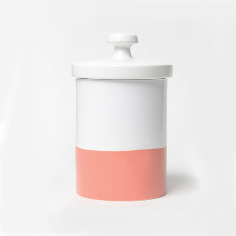 Coral Treat Jar