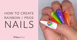 HOW TO CREATE RAINBOW / PRIDE NAILS