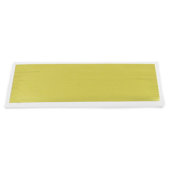 Gold Striping Tape Sheet