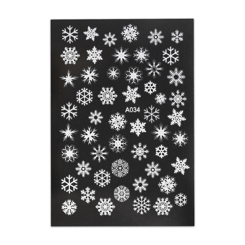 Christmas Sticker - Snowflake
