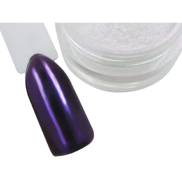 Amethyst Chrome Pigment Powder - Naio Nails - 1