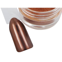 Bronze Chrome Pigment Powder - Naio Nails - 1