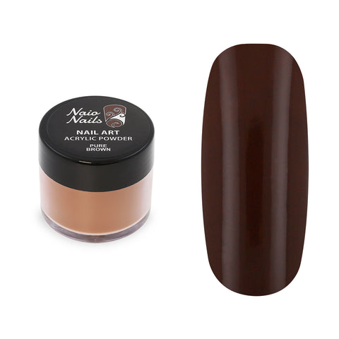 Pure Colours Brown Acrylic Powder