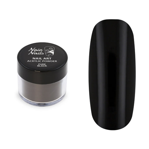 Pure Black Acrylic Powder 12g