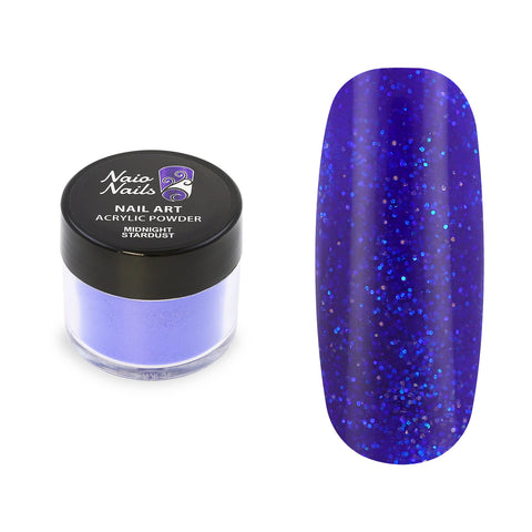 Midnight Stardust Shimmer Acrylic Powder 12g