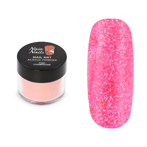 Pink Champagne Shimmer Acrylic Powder 12g