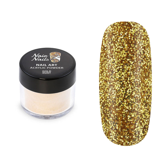 Gold Dust Glitter Acrylic Powder 12g