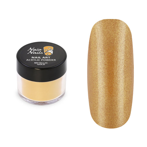 Metallic Gold Acrylic Powder 12g