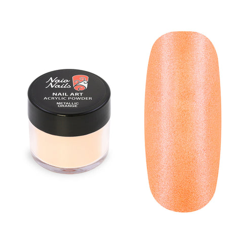 Metallic Orange Acrylic Powder