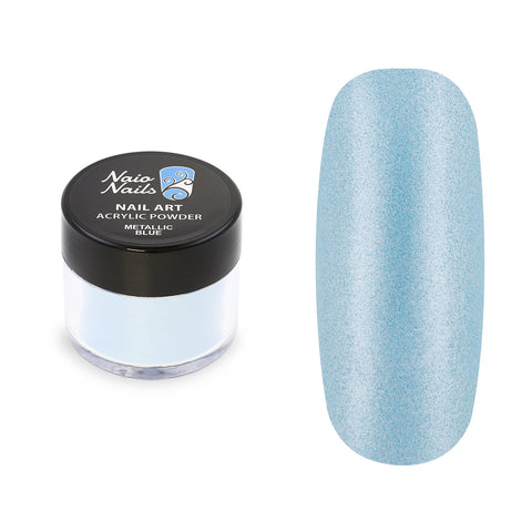 Metallic Blue Acrylic Powder