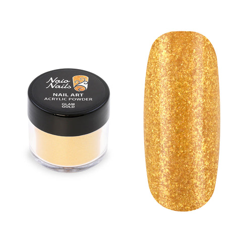 Glam Gold Acrylic Powder 12g