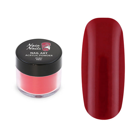 Ruby Red Acrylic Powder 12g