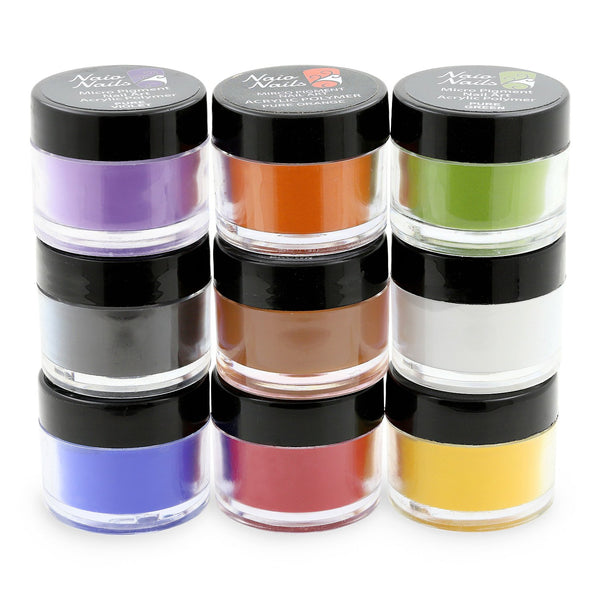 Pure Colours Collection Acrylic Powder - Set of 9