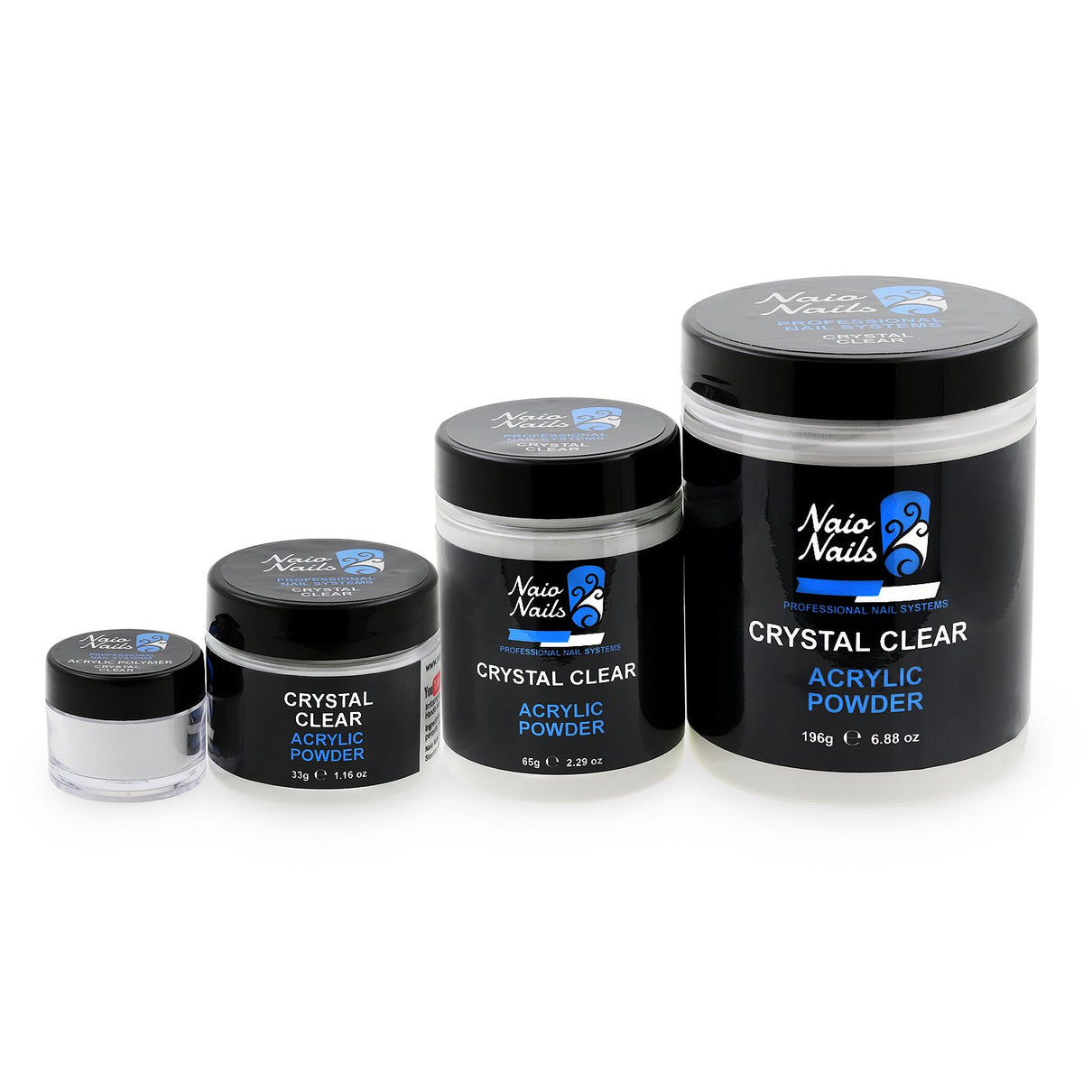 Clear Acrylic Powder 195g Naio Nails