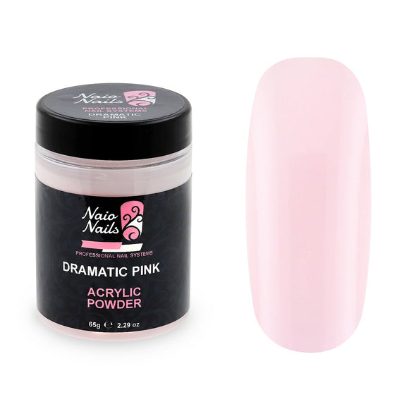 Dramatic Pink Transparent Acrylic Powder 195g