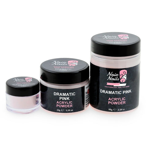 Dramatic Pink Transparent Acrylic Powder 7g