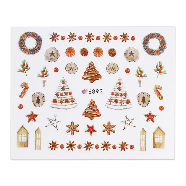 (NEW) Christmas Sticker - Christmas Cookies