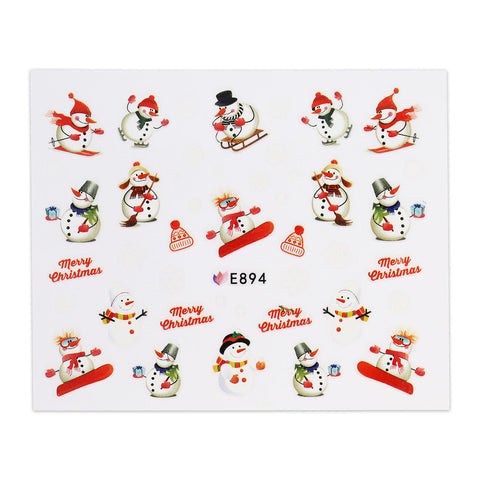 (NEW) Christmas Sticker - E894