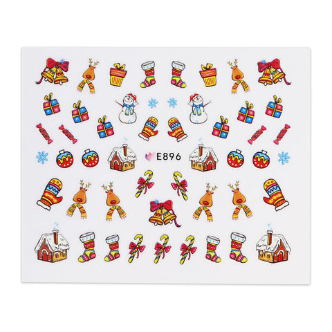 (NEW) Christmas Sticker - E896